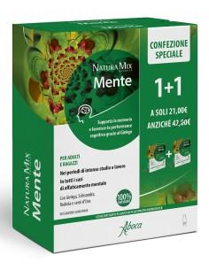 NATURA MIX ADVANCED MENTE 10 FLACONCINI + 10 FLACONCINI 300ML CONFEZIONE SPECIALE