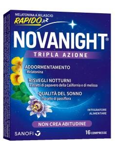 NOVANIGHT 16 COMPRESSE RILASCIO RAPIDO