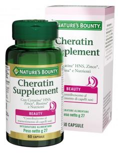 NATURE'S BOUNTY CHERATIN SUPPLEMENT 60 CAPSULE