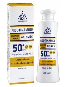 NICOTINAMIDE AK-NMSC 50+SPF PROTEZIONE MOLTO ALTA 200 ML