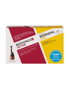 BIOTHYMUS KIT TRATTAMENTO AC ACTIVE 10 FIALE UOMO + BIOMINERAL ONE 30 COMPRESSE