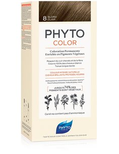 PHYTOCOLOR 8 BIONDO CHIARO 1 LATTE + 1 CREMA + 1 MASCHERA +1 PAIO DI GUANTI
