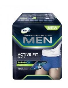 PULL UP UOMO TENA MEN PANTS ACTIVE FIT M 9 PEZZI
