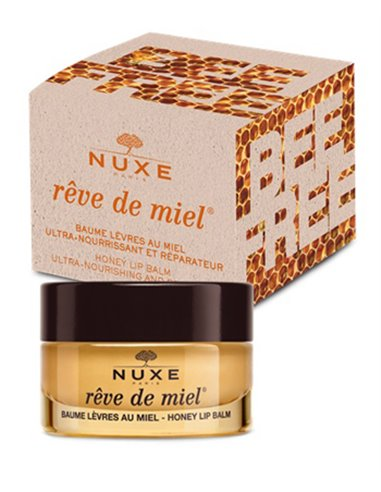 NUXE BAUME LEVRES MIEL ULTRA NOURISSANT REPARATEUS BEE FREE15 ML